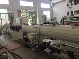 2019 máquina cortadora Línea de máquina de producción de tornillo de tubo de plástico PVC de 50 ~ 200 mm
