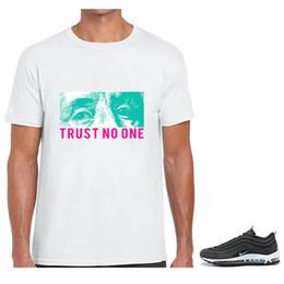 2019 ein benutzerdefiniertes t-shirt Kundenspezifisches grafisches heißes Verkauf T-Shirt, zum von maximalem 97 Südstrand-Vertrauen niemand-T-Stücken zusammenzubringen günstig ein benutzerdefiniertes t-shirt