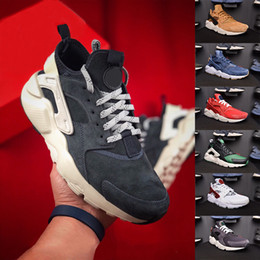 ... Triple White Black Huarache 4.0 1.0 Shoes Classical red Rose gold men  women Huarache Shoes Huaraches Trainer shoes 36-45 inexpensive huarache  army green d5482224f
