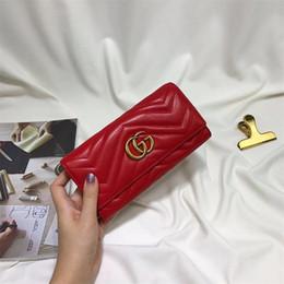 Portefeuilles en cuir pour filles en Ligne-Mara's Dream New Fashion Owl Pattern Wallet Women PU Portefeuilles en cuir Porte-cartes à monnaie Longues bourses