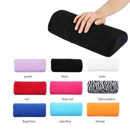 Schlussverkauf 4 Arten Weichen Pu Nail Art Hand Kissen Kissen Für Arm Rest Nail Art Kleine Maniküre Tisch Hand Ruht Kissen Kissen Nägel Design Handauflagen