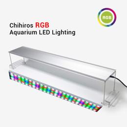 La luz LED RGB Chihiros acuario espectro completo de iluminación para la planta acuática Brillo ajustable para 30-120cm Tanque desde fabricantes
