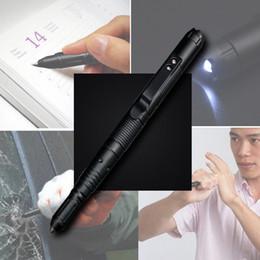 Açık Kendini Savunma Kalem Çok fonksiyonlu Taktik LED El Feneri Araba Kaçış Kırık Pencere Tungsten Çelik Saldırı Kafa Taktik Kalem nereden