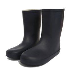 botas impermeables de invierno para niños Rebajas Botas de lluvia para niños Caucho mate Niños Rainboots Impermeables Botas de lluvia Welly Fit Botas de invierno Calcetines para niños