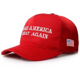 свободные флаги для вышивания Скидка Вышивка Сделай Америку Великой Снова Шляпа Дональд Трамп Республиканские Спортивные Шапки Бейсболки С Флагом США Бейсболки DHL free ship