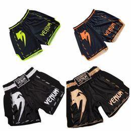 Ммa чемоданы онлайн-ММА шорты кикбоксингу муай тай шорты стволы мма дешевые мужские шорты для фитнеса санда боксе бой носить схватки мма брюки спортивные