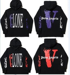 2019 Vlone Palm Angels sudadera con capucha sudadera hombres mujeres chaquetas Chándal Hip Hop Streetwear Harajuku invierno marca abrigo con capucha moda Pullover desde fabricantes