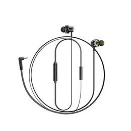 Telefono cellulare z1 online-Nuovi prodotti caldi Z1 doppio anello mobile in-ear cuffia per telefono auricolare magnetico subwoofer basso metallico controllo metallico universale