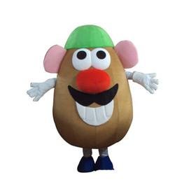 Personalizado profesional Sr. Potato Head traje de la mascota de dibujos animados Scooby - Doo personaje mascota ropa navidad fiesta de Halloween disfraces desde fabricantes