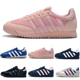 Adidas Originals Dragon Klassische 2018 Originals Dragon Running Schuhe blau rot schwarz Streifen Mens Womens Superstar 80er Jahre Pride Sneakers