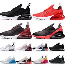 nike air max 270 airmax 270 shoes airmax maxes 270s Uomo Hot Punch Bianco Nero RACER BLUE Scarpe da corsa Donna Sneaker Red Orbit Trainer Sport Uomo