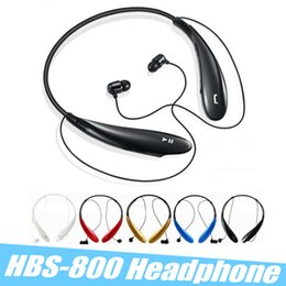 Argentina HBS-800 HBS 800 Auriculares Bluetooth Auriculares deportivos Auriculares Bluetooth 4.0 Auriculares Hansfree Auriculares In-ear No LOGO con caja Suministro