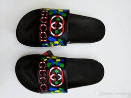 slingback nero cuneo Sconti Bestseller Sandali Fashion Slippers Causale Slide Stripe Designer Huaraches Flip Flop Mocassini Scuff Indoor Beach
