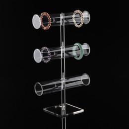 2020 relógios acrílico Acrílico claro 3-Layer e 2-Camada de exibição Pulseira Levante Tornozeleira Mostrando Assista Titular Jóias Shelf 2-Layer e 3-Layer Disponível desconto relógios acrílico