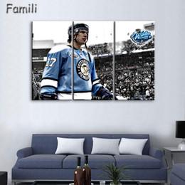 Pintura de parede da águia on-line-Arte Moderna Parede Pintura Hóquei No Gelo Montreal Canadiens Capitais Esporte Temático Águia Imagem Impressa Em Lona de Arte No Framed