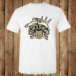 8a85ed0b7bd Hank Williams Iii Logo Skull New T-shirt Unisex Brand Cotton Men Clothing  Male Slim Fit T Shirt