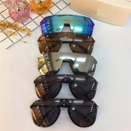 b60a0041c8de0 New fashion designer sunglasses large frame without frame connection lens  sports motorcycle series eyewear top quality with original box2180 discount  frames ...