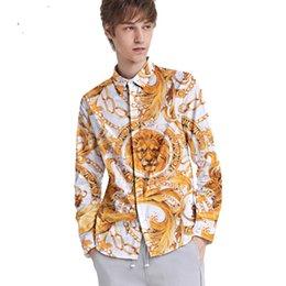 blusas jovenes Rebajas Otoño invierno blusa de lujo con estampado vintage blusa con cuello de solapa blusa joven suelta gran tamaño camisa lisa