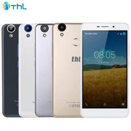 android scanner radio Rabatt THL T9 Pro Android 6.0 5,5 Zoll 4G Phablet MTK6737 Quad Core 1,3 GHz 2 GB RAM 16 GB ROM Fingerabdruckscanner Bluetooth 4.0 GPS