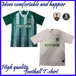 nacional jersey Coupons - new 2019 Atletico Nacional Medellin Soccer Jerseys 19 20 Medellin Home green Away white Football Shirts Colombian Primera A Soccer Shirt On