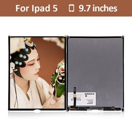 Ipad lcd display de ar on-line-5 unidades / lotes lcd para ipad air 5 5a substituição da tela de exibição lcd para ipad 5 a1474 a1475 a1476 painel de exibição da tela