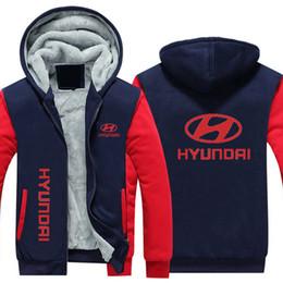 Argentina Hyundai Car Winter Hoodie Cotton Coat Espesar Fleece Hoodie Zipper Jacket Super Warm Cardigan Coat Sudaderas con capucha EE. UU. Tamaño de la UE Más tamaño cheap cotton cardigans plus size Suministro