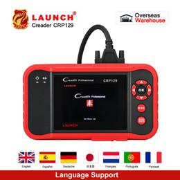 Escáner de código obd2 de lanzamiento online-OBD2 Scanner Launch X431 Creader CRP129 Auto Code Reader OBD2 Herramienta de diagnóstico automotriz Máquina Creader VIII 8 ABS SRS Herramientas