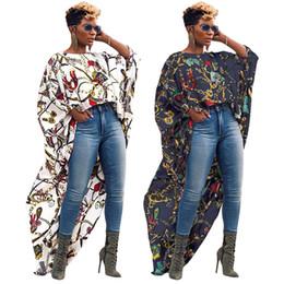длинные короткие шифоновые юбки Скидка платье Ms Европа и Америка Большая золотая цепочка с принтом Полые Короткие перед Длинным шифоновым топом Платье Сексуальные модные Длинные юбки Новый стиль