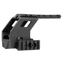 Universal Tactical AEG juguetes Pistola pistola de plástico Base de polímero Quad Rail Picatinny Sight Iluminación láser Montaje de alcance para G17 G18 G19 desde fabricantes