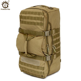 2020 tactical shoulder bag Tactical Mochila 60L grande capacidade Outdoor Camping Esporte Mochilas de Homens Caminhadas Shoulder Bag Mochila Viagem Backpack tactical shoulder bag barato