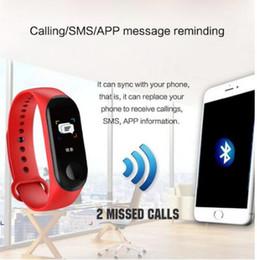 Opciones de telefono online-Viene con extral correas opciones de color deportes pulsera inteligente ritmo cardíaco pulso sueño rastreador varios idiomas