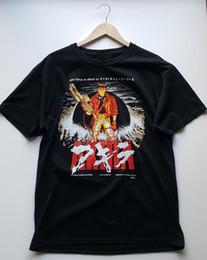 T-shirt vintage hip hop en Ligne-AKIRA T-shirt Vintage Rare Licensed Deadstock T-shirts Sérigraphiés En S T-shirt En Jersey Personnalisé À Capuche Hip Hop T-shirt