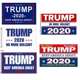 konfetti silber großhandel Rabatt Trump Flag 90 * 150cm Trump 2020 Flag Donald Flaggen halten Amerika groß wieder Polyester Dekor Banner für Präsident USA
