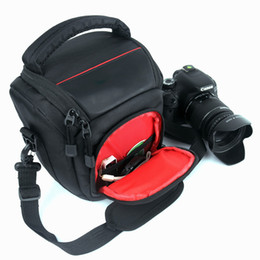 Funda Protectora Portátil Organizador Bolsa De Cámara Para DSLR para Canon 80D 77D 700D