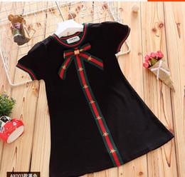 nuevo vestido de verano niña pequeña Rebajas Falda estudiante estilo de Asuntos Exteriores de moda para el verano de los nuevos niños Ocio princesa de la falda de la niña
