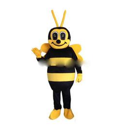 Maskottchen für festivals online-Bienen-erwachsenes Maskottchen-Kostüm der Fabrik-2019 direkt für freies Verschiffen des Festivals / der Partei