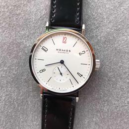 5f07f3e8ba8 2019 New Nomos Watch Horse Pulseira de couro 316 Dial Aço inoxidável DUW  5001 Automatic Mov Sapphire Vidro à prova d água GP relógios de fábrica de  luxo