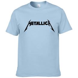 7cd32d60da3e8 2019 camisetas de la banda metallica Metallica banda de rock de metal duro  Camiseta de hombre
