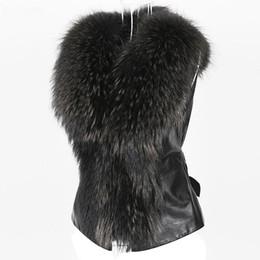Dames gilets occasionnels en Ligne-2019 Chic Lady Gilet En Fausse Fourrure Casual Gilet Hiver Automne Solide V-cou Zipper Doux Sans Manches Femmes Outwear Manteau 2019