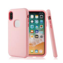 Canada Top Qualité Hybrid Defender Case Silicone Résistance Aux Chutes pour iPhone 7 Plus 6 6S Plus Coques Antichoc Soild 3 Layer Cover Offre