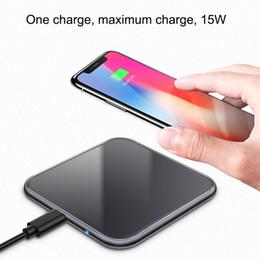 2019 15w iphone charger 15 Вт QI Беспроводное быстрое зарядное устройство USB Tpye C QC 3.0 Быстрая зарядка для Iphone Samsung S9 Xiaomi Moblie телефон дешево 15w iphone charger