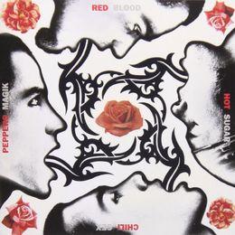 Arte sessuale calda online-Red Hot Chili Peppers Sangue Zucchero Sex Magik decorazione della parete di casa Art Silk Print Poster 24x24 pollici