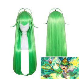 Canada League of Legends LOL Star Guardian longue perruque de cheveux Cosplay mélangés verts cheap mixed green wig Offre