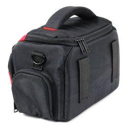 Cámara llevar bolsas online-DSLR SLR Cámara Impermeable Bolsa de hombro Estuche para fotografía al aire libre GT66