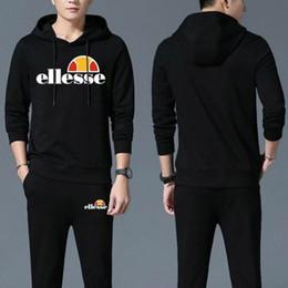 2019 roupa casual de futebol Ellesse 2020 Top Qualidade Mens Fatos fato de treino Futebol Jacket Designer camisola Treino Moda roupas casuais Tamanho S-3XL roupa casual de futebol barato