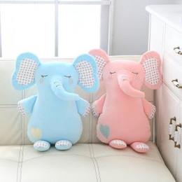 Детские развивающие игрушки онлайн-Слон плюшевые игрушки мягкие слон чучела мультфильм животных куклы автомобиль спальня кулон животных игрушки для детей девочек подарки новинки GGA1619