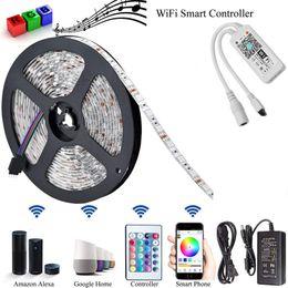 2019 controlador wifi smartphone Magic Home Mini RGB Wifi bluetooth LED tira kits Controlador para Led luz de tira Control de Smartphone controlador wifi smartphone baratos