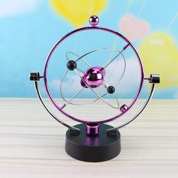 rueda alada Rebajas 14 Estilos Movimiento perpetuo esfera magnética No polar oscilador juguete nuevo escritorio niños de la decoración de los niños Ciencias de la Educación Juguete LA363