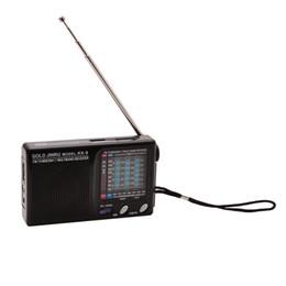 Argentina Reloj despertador con receptor de radio FM estéreo / MW / SW de banda completa mundial portátil Suministro