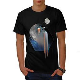 Diseño gráfico color online-Camiseta para hombre de Wellcoda, camiseta estampada con diseño gráfico de Galaxy. CAMISETA DE HOMBRES HUNTER DE THE BOUNTY HUNTER, TROOPER DE STAR GALAXY